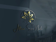 Allure Spa Nails Logo - Entry #66