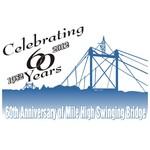 60th Anniversary of Mile High Swinging Bridge Logo - Entry #4