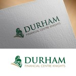 Durham Financial Centre Knights Logo - Entry #61