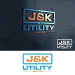 J&K Utility Services Logo - Entry #124