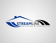STREAMLINE building & carpentry Logo - Entry #68