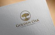 Golden Oak Wealth Management Logo - Entry #9