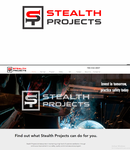 Stealth Projects Logo - Entry #25