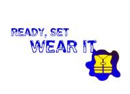 """""""Ready, Set, Wear It!"""" Logo - Entry #9"""