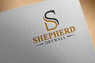 Shepherd Drywall Logo - Entry #75