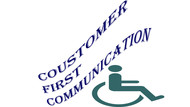 Customer First Communications Logo - Entry #62