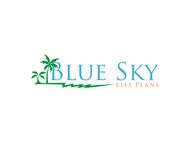 Blue Sky Life Plans Logo - Entry #23