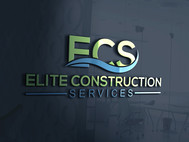 Elite Construction Services or ECS Logo - Entry #241