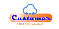 Customer First Communications Logo - Entry #107