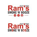 Rams Duty Free + Smoke & Booze Logo - Entry #309