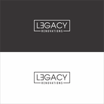 LEGACY RENOVATIONS Logo - Entry #145