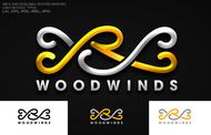 Woodwind repair business logo: R S Woodwinds, llc - Entry #105