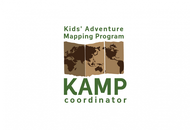 KAMPcoordinator : Kids' Adventure Mapping Program   Logo - Entry #7