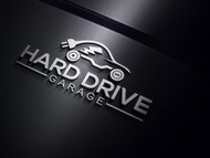 Hard drive garage Logo - Entry #122