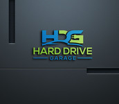 Hard drive garage Logo - Entry #151