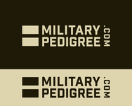 Military Pedigree Logo - Entry #90