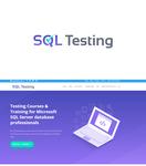 SQL Testing Logo - Entry #391