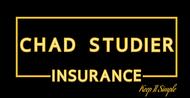 Chad Studier Insurance Logo - Entry #244