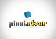 Pixel River Logo - Online Marketing Agency - Entry #159