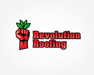 Revolution Roofing Logo - Entry #355