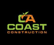 CA Coast Construction Logo - Entry #251