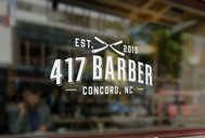 417 Barber Logo - Entry #22