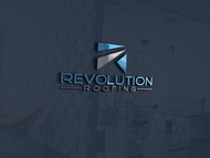 Revolution Roofing Logo - Entry #453