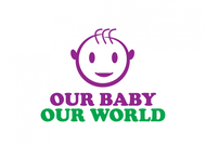 Logo for our Baby product store - Our Baby Our World - Entry #40