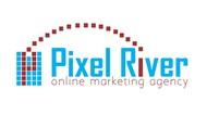 Pixel River Logo - Online Marketing Agency - Entry #101