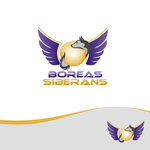 Siberian Husky Logo - Entry #42