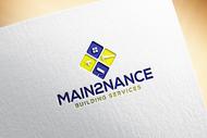 MAIN2NANCE BUILDING SERVICES Logo - Entry #133