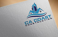 CA Coast Construction Logo - Entry #236