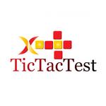 TicTacTest Logo - Entry #106