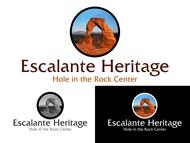 Escalante Heritage/ Hole in the Rock Center Logo - Entry #1