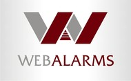 Logo for WebAlarms - Alert services on the web - Entry #162