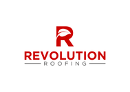 Revolution Roofing Logo - Entry #445