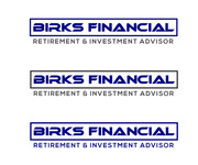Birks Financial Logo - Entry #111