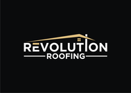 Revolution Roofing Logo - Entry #22