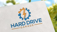 Hard drive garage Logo - Entry #144