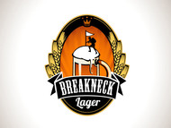 Breakneck Lager Logo - Entry #24