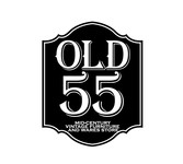 """""""OLD 55"""" - mid-century vintage furniture and wares store Logo - Entry #191"""