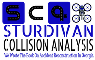 Sturdivan Collision Analyisis.  SCA Logo - Entry #150