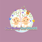 Logo for our Baby product store - Our Baby Our World - Entry #104
