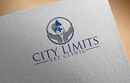 City Limits Vet Clinic Logo - Entry #129