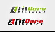 FitCore District Logo - Entry #9