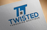 Twisted Turquoise Boutique Logo - Entry #143