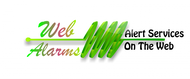 Logo for WebAlarms - Alert services on the web - Entry #97