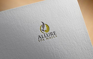 Allure Spa Nails Logo - Entry #127