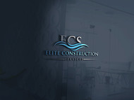 Elite Construction Services or ECS Logo - Entry #168