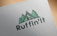 Ruffin'It Logo - Entry #9
